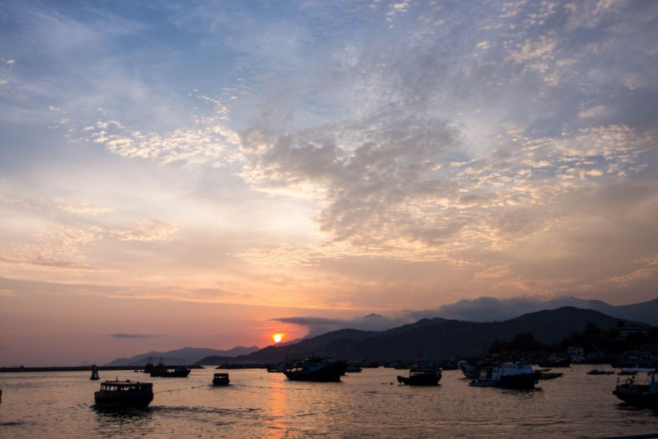 Sunset on Cheung Chau