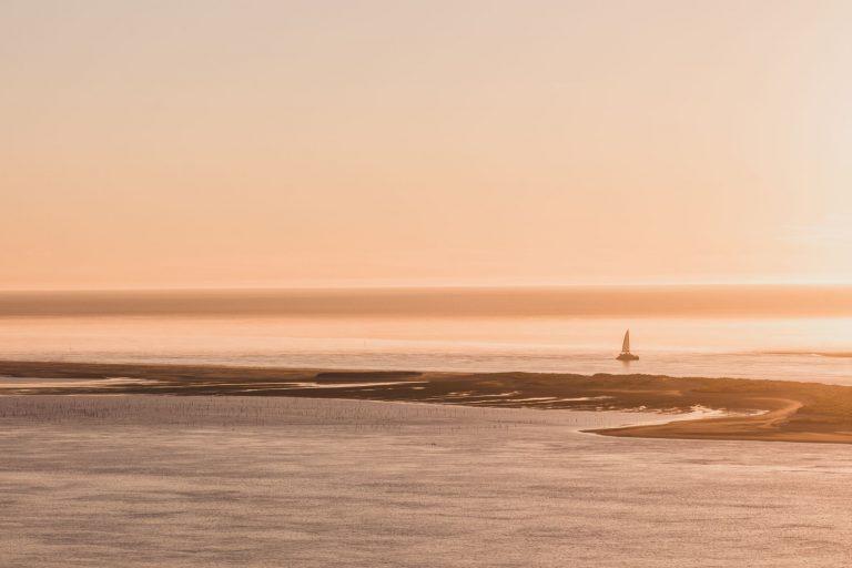 Découvrir la dune du Pilat au coucher du soleil