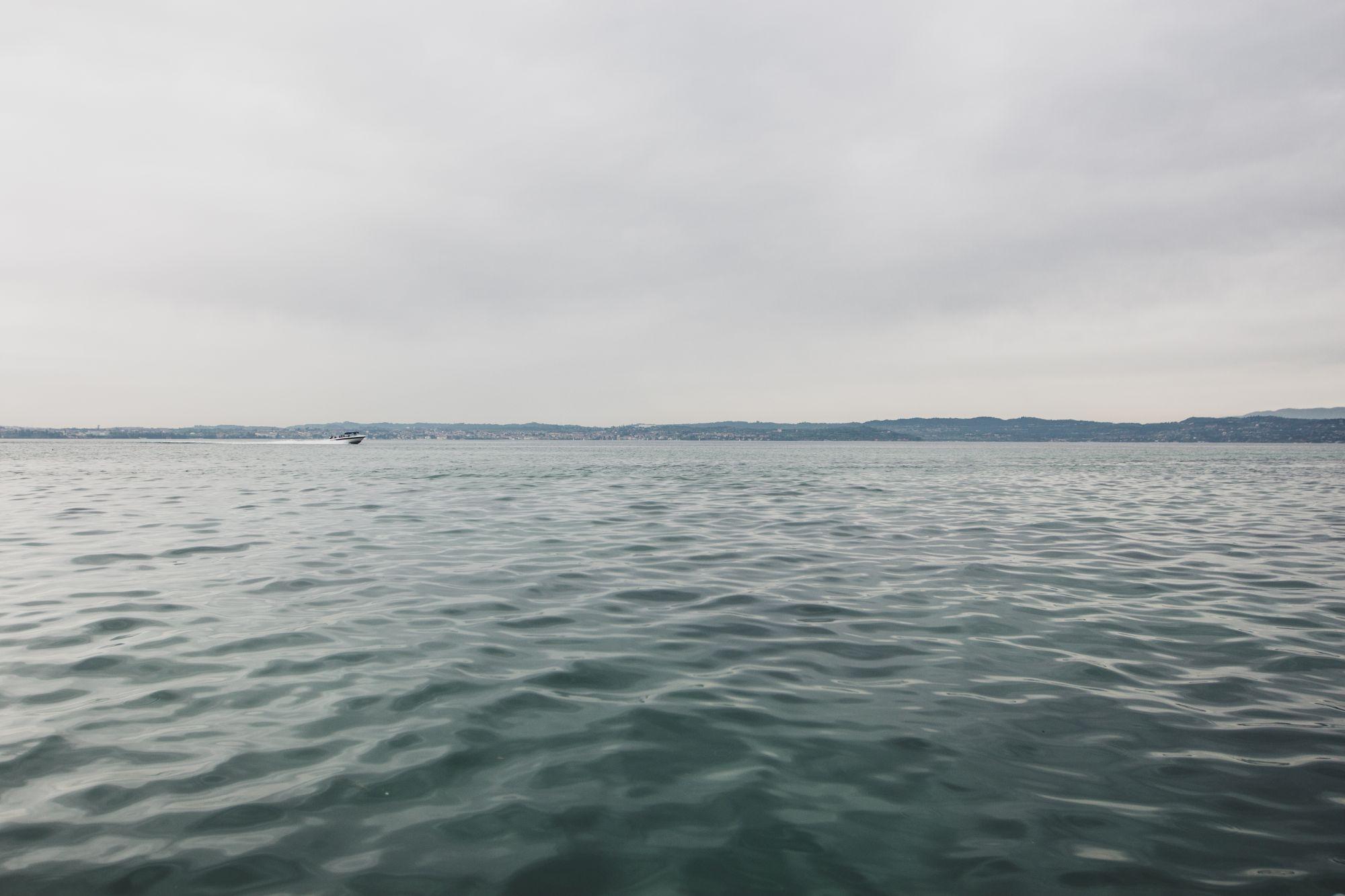 Le lac de Garde en bateau