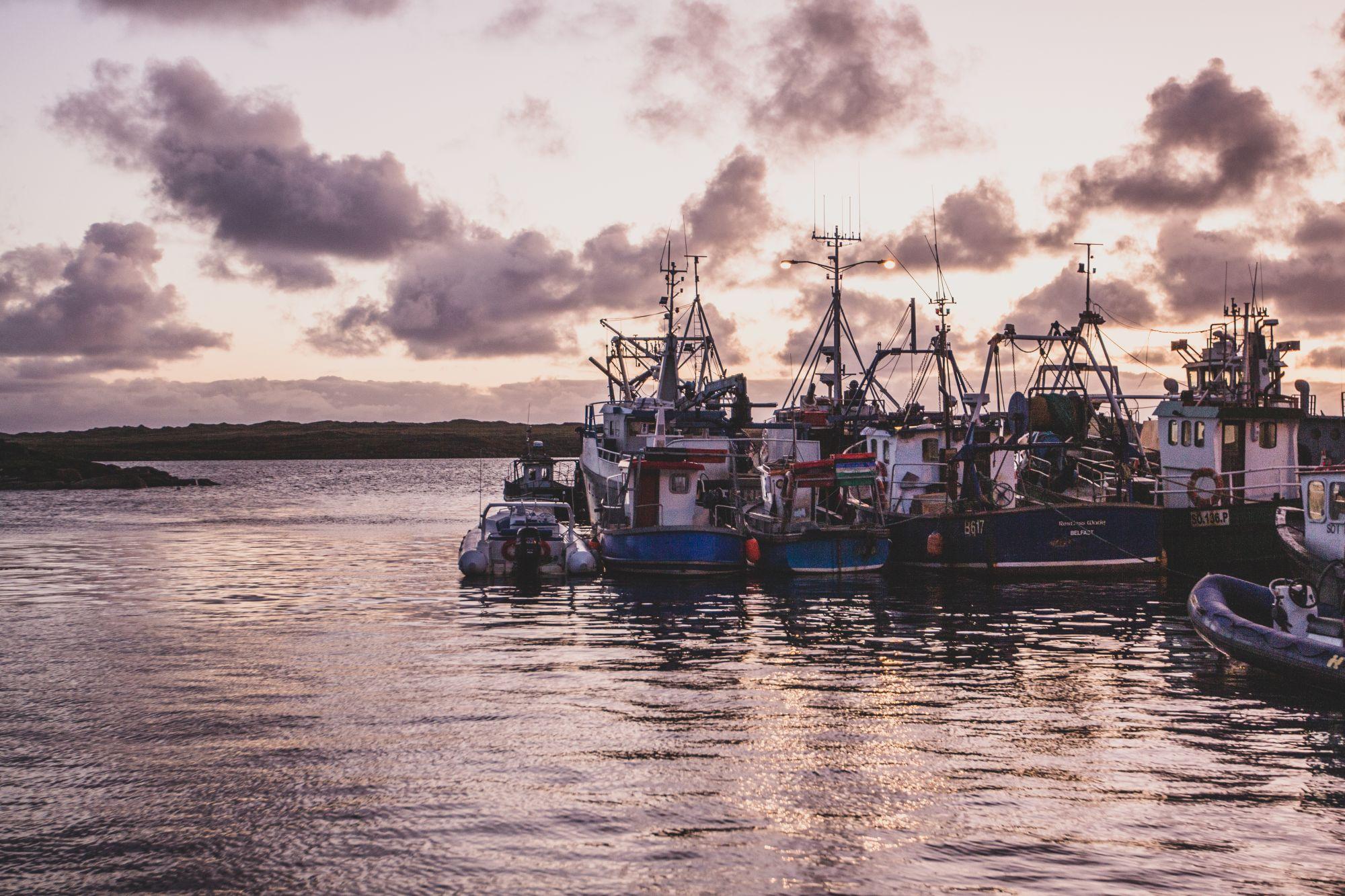 Les îles en Irlande : Arranmore dans le Donegal