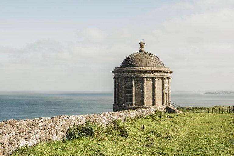 Visiter le temple de Mussenden en Irlande du Nord
